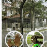 Anti Climb Fencing Mesh Panel