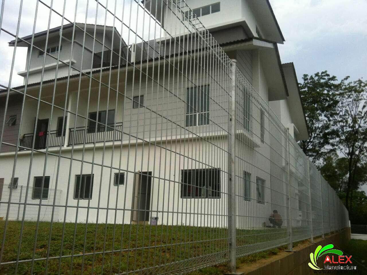Brc fencing mesh panel security wire