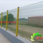 Perimeter Fence Mesh Panel