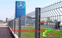 Perimeter Fencing Mesh Panel