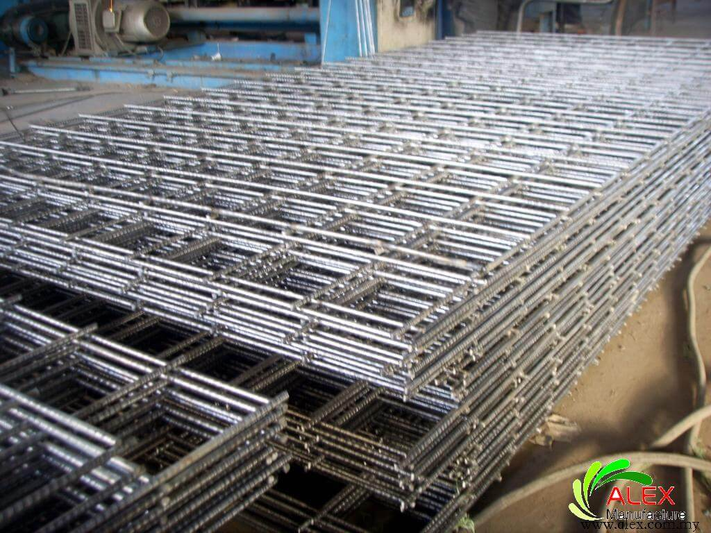 Welded Mesh Security Fencing Wire Mesh